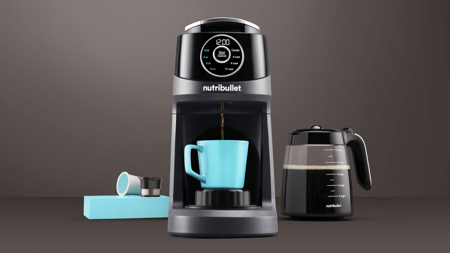 nutribullet Brew Choice Pod and Carafe